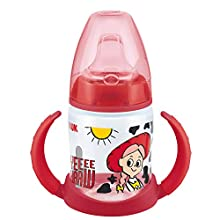 NUK Disney First Choice Learner Cup Sippy Cup | 6-18 Months | Leak-Proof Silicone Spout | Anti-Colic | BPA-Free | 150 ml | Jessie (Toy Story)