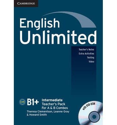 [(English Unlimited Intermediate Teacher's Pack (teacher's Book with DVD-ROM))] [Author: Theresa Clementson] published on (August, 2011)