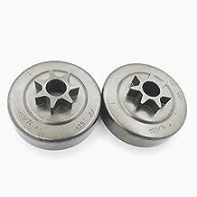 Shioshen 2 Piezas.325 7T Embrague piñón batería para STIHL MS170 MS180 MS210 MS230 MS250