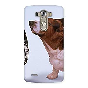 Gorgeous Dog Fan Back Case Cover for LG G3