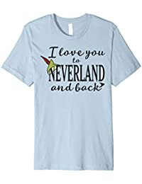 Disney Peter Pan Love You To Neverland Graphic T-Shirt
