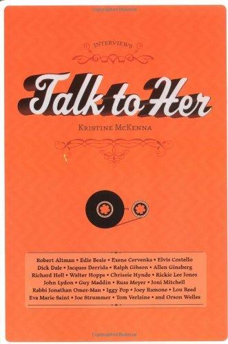 Talk to Her (Interviews (Fantagraphics)) by Kristine McKenna (2004-08-18)