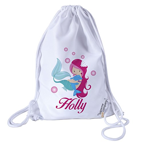 personalised-kids-mermaid-and-bubbles-theme-drawstring-swimming-school-pe-bag-for-girls