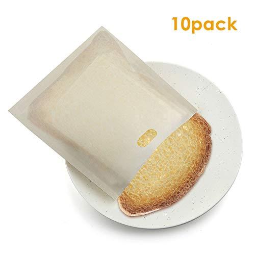 WolinTek 10 Piezas Bolsas tostar Reutilizables Antiadherentes