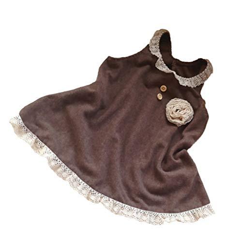 einkind Kleid Prinzessin Kleider Dresses, Selber Nähen Bastelset für Erwachsene Anfänger Handarbeit ()