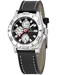 FESTINA Sport 16243/6 - Reloj unisex de cuarzo, correa de piel color negro