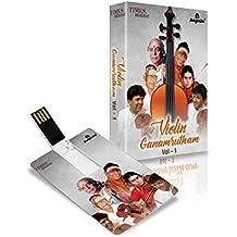Music Card: Violin Ganamrutham - Vol. 1 (4 GB)