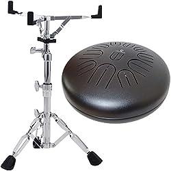 Aqua Drum Pro11Tongue Drum afinable 11tonos + Pearl S de 830Soporte