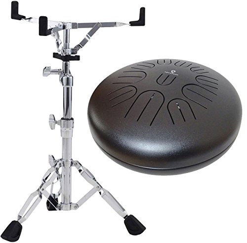 Aqua Drum Pro11 Tongue Drum afinable 11 tonos + Pearl S de 830 Soporte