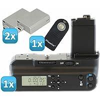 Impulsfoto - Impugnatura portabatteria professionale con timer LCD e comando