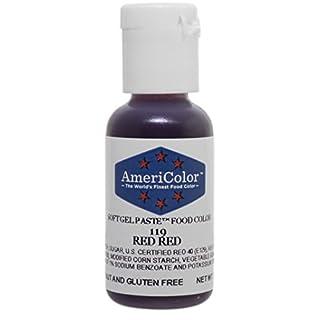 Americolor Soft Gel Paste .75 oz Red Red Color