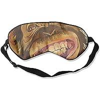 Sleep Eye Mask Chimpanzee Chimp Smile Lightweight Soft Blindfold Adjustable Head Strap Eyeshade Travel Eyepatch preisvergleich bei billige-tabletten.eu