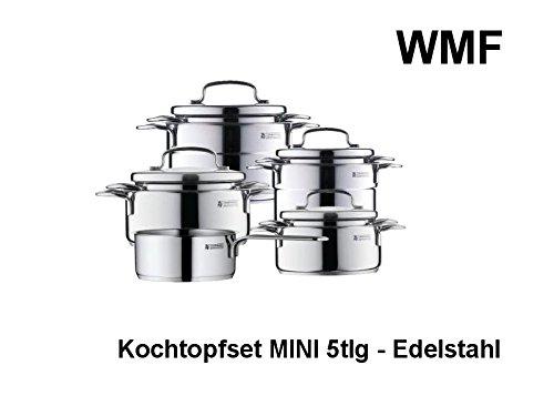 WMF Topf-Set Mini 5-teilig Bratentopf Fleischtopf Stielkasserolle spülmaschinengeeignet