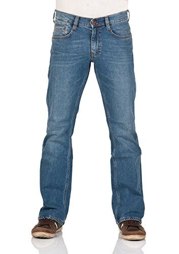 Mustang Herren Jeans Oregon - Bootcut - Blau - Light Blue - Mid Blue - Dark Blue Light Blue (312)