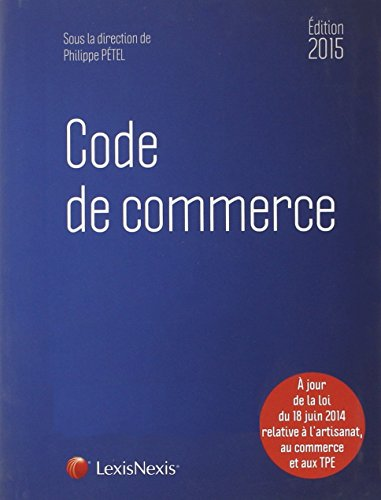 Code de commerce 2015