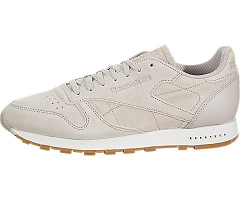 Reebok Men's CL Leather SG Sneaker, Smoky Indigo/chalk-Gum