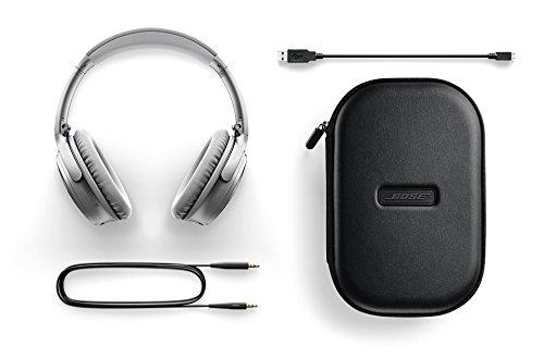 Bose ® QuietComfort 35 kabellose Kopfhörer silber - 5