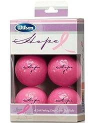 Wilson Hope Lot de 6 balles de Golf pour femme