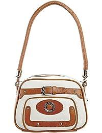 Duca del Cosma Golf - Madia X2 Beauty Bag - white-camel