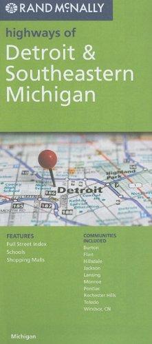Detroit & SE Michigan (Rand McNally Highways Of...) (Karte Von Michigan)