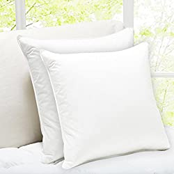 Story@Home White Micro fibre Cushion - Set of 2 (16