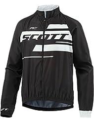 Scott RC Team 10 Fahrrad Windjacke schwarz/weiß 2017