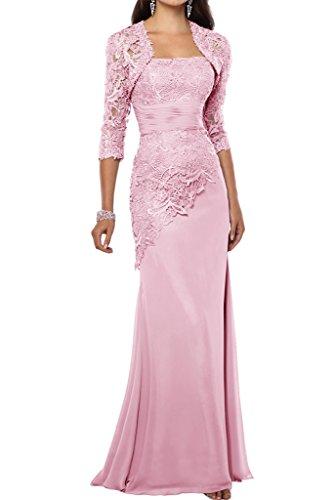 Prom Style Elegant Etui Chiffon Spitze Abendkleider ...