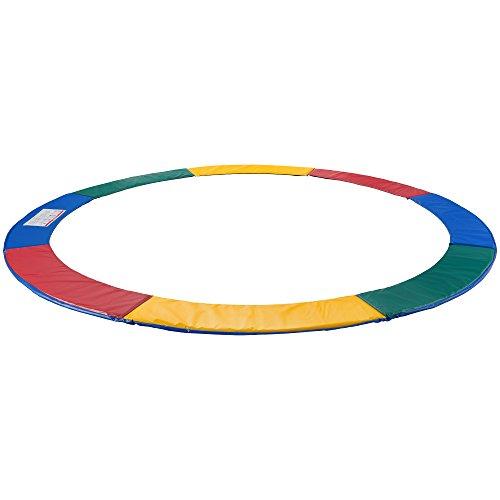 Arebos Trampolin Randabdeckung / 183, 244, 305, 366, 396, 427, 457 oder 487 cm/Mehrfarbig (305 cm)