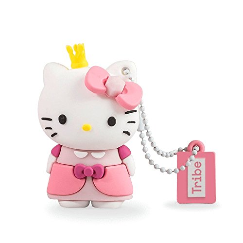 Tribe Hello Kitty Princess - Memoria USB 2.0 de 8 GB...