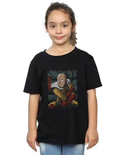 Vincent Trinidad Mädchen Samurai Punch T-Shirt Schwarz 7-8 years