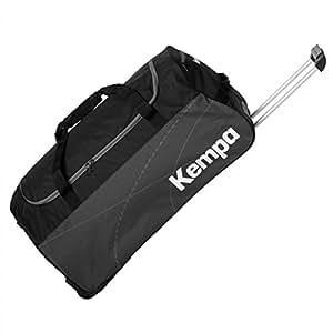 Kempa Teamline Sac à Roulettes Noir/Anthra Taille M