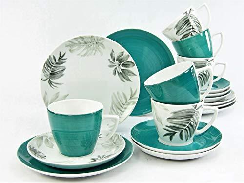 Creatable 20632, Serie Topical, Geschirrset, Kaffeeservice 18 teilig, Mehrfarbig