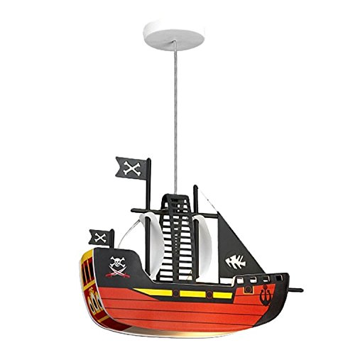 Pendel Leuchte Piratenschiff Kinder Lampe Kinderlampe Rabalux Ship rab4719