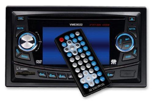 Audiovox VME 8022 DVD-Tuner mit 10,2 cm (4 Zoll) TFT Display schwarz