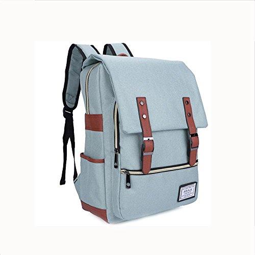 Imagen de rucksack  oxford tela impermeable 18 pulgadas portátil  para hombres y mujeres , green alternativa