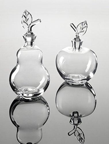 Carafe à liqueur forme poire en verre soufflé bouche 0,8L - WILLIAM - Bruno Evrard