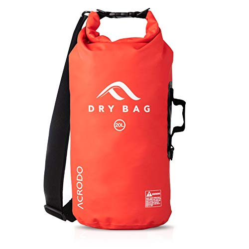 Acrodo Dry Bag Transparent & Wasserdicht -