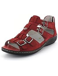 Sandalette Hilena Größe 8, Farbe: Cherry Waldläufer