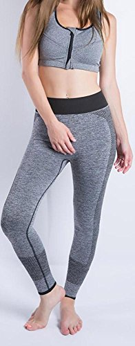 JIASHA Absorbono le donne Yoga Power Flex Yoga Pantaloni Nine Pantaloni 25