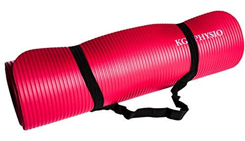 KG-Physio-Esterilla-de-yoga-extra-grueso-12-mm-con-correa-de-hombro miniatura 16