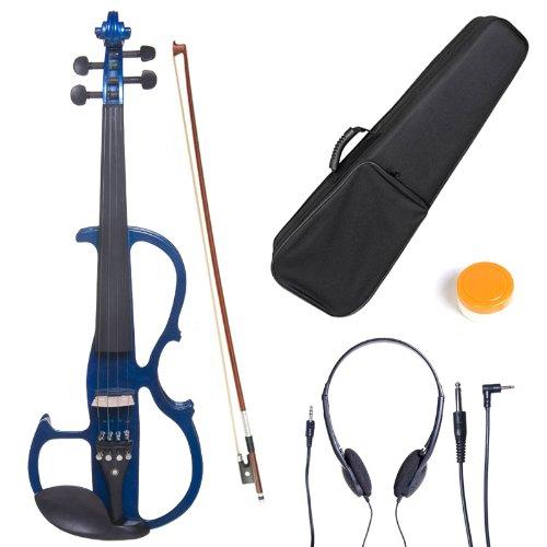 cecilio-3-4cevn-2bl-size-3-4-electric-violin-blue