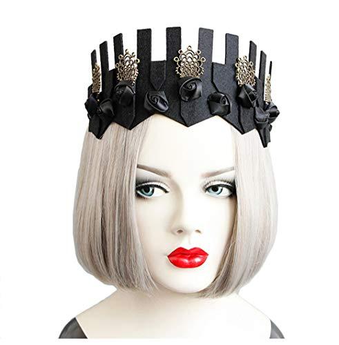 Wind Göttin Kostüm - Cebilevin Weinlese-barocke Kronen-gotische Wind-Schwarz-Kronen-erwachsenes Kinderscheinen-Mädchen-Göttin