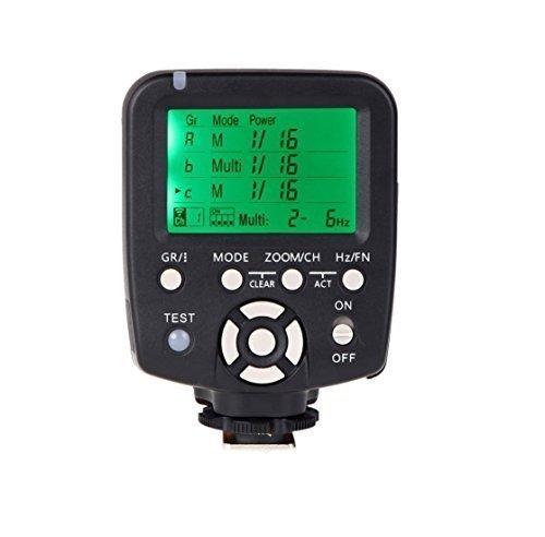 Yongnuo nikon YN560-TX sans fil contrôleur de flash et commandant pour YN-560III YN-560TX YN560TX Speedlite Nikon DSLR+WINGONEER diffuseur