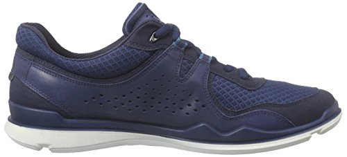 Ecco  ECCO LYNX, Chaussures Multisport Indoor homme Bleu - Blau (MARINE/DENIM BLUE/TRUE NAVY59775)