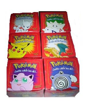 red-pokemon-23k-gold-plated-burger-king-cards-set-of-6-by-nintendo