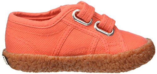 Superga  2750-naked Covj, Sneakers basses Unisexe - enfant Rosso (Red Coral)