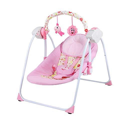 eb4f0159a CDREAM Silla Mecedora De Lujo Reclinable Vibradora Y Musical para Bebé con  Soporte para La Cabeza