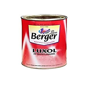 Berger Instruments Paints Luxol Hi Gloss Enamel 1 L Special Truck Brown Amazon In Home Improvement