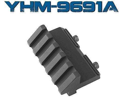 Yankee Hill Machine YHM-9691A Picatinny Winkelhalterung mit 5 Schlitzen