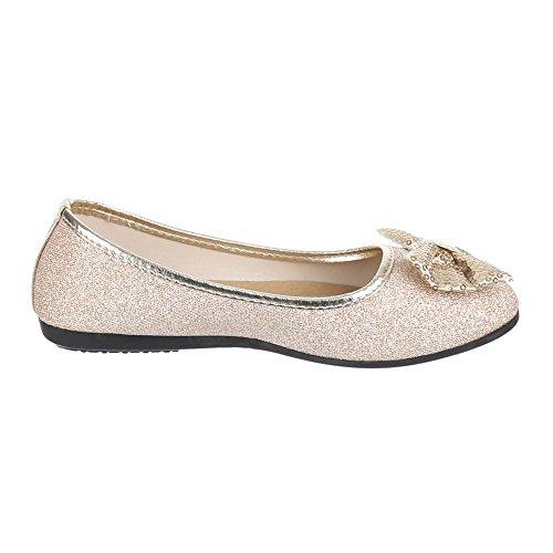 Ital-Design, Ballerine donna Beige (beige)